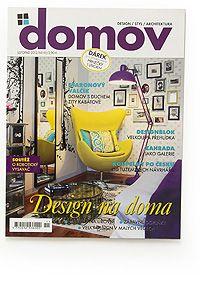 Domov, magazín, ČR, 2012