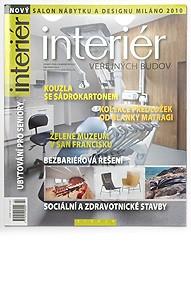 Interiér, magazín, ČR, 2010