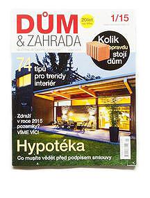 DŮM A ZAHRADA, magazine, CZ, 2015