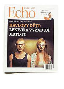 ECHO, magazine, CZ, 2014