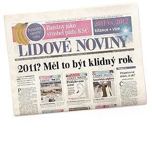 Lidové noviny, denník, ČR, 2011