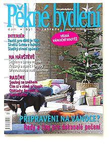 Pěkné bydlení, magazín, ČR, 2012