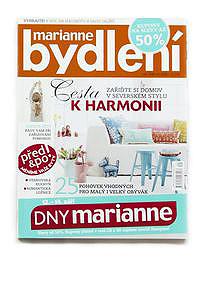 MARIANNE BYDLENÍ, magazín, ČR, 2014