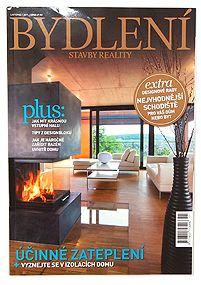 Bydlení, stavba, reality, magazine, CZ, 2011