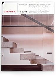 ARCHITEKT, magazine, CZ, 2009