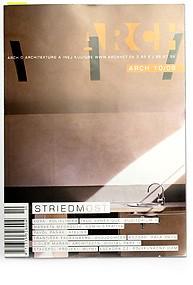 ARCH, magazín, SK, 2009