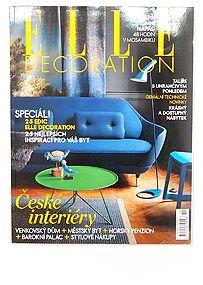 ELLE Decoration, magazine, CZ, 2011