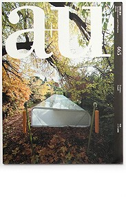 A+U, magazine, Japan, 2009