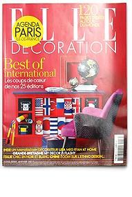 ELLE decoration, magazín, Francie, 2011