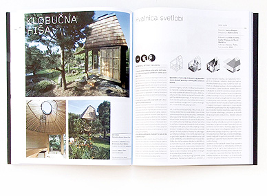 HIŠE, magazín, Slovinsko, 2011