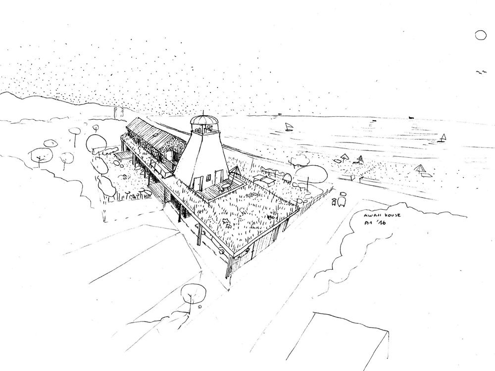 A1_W_WRK_ARC_HOUSE_AWAJI_SKETCH_02