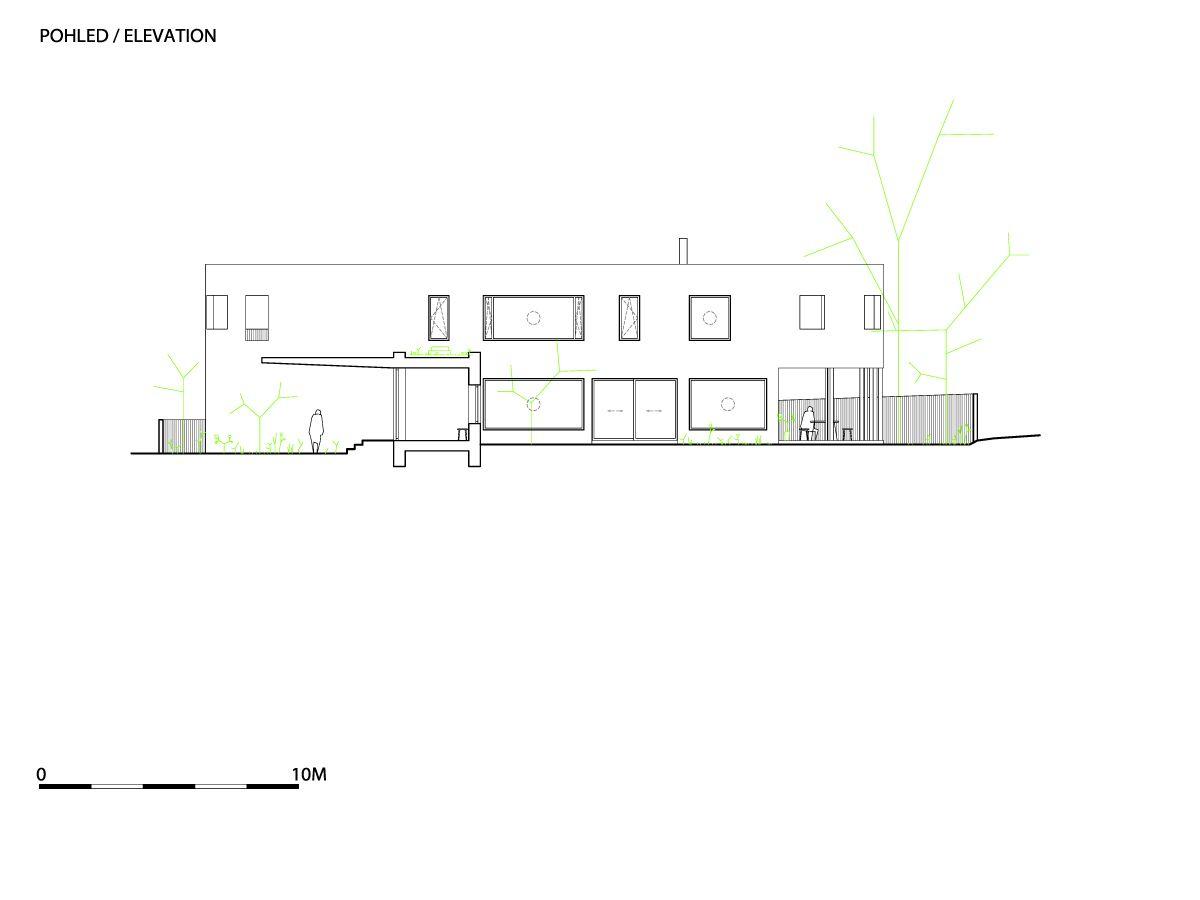 A1_W_WRK_ARC_HOUSE_CERNOSICE_MOST_P_ELEVATION01