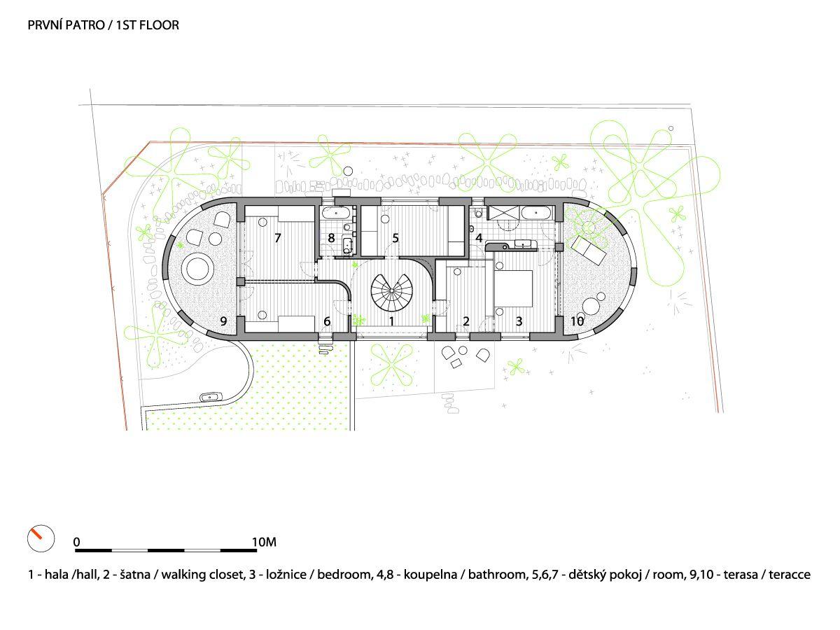 A1_W_WRK_ARC_HOUSE_CERNOSICE_MOST_P_FIRSTFLOOR