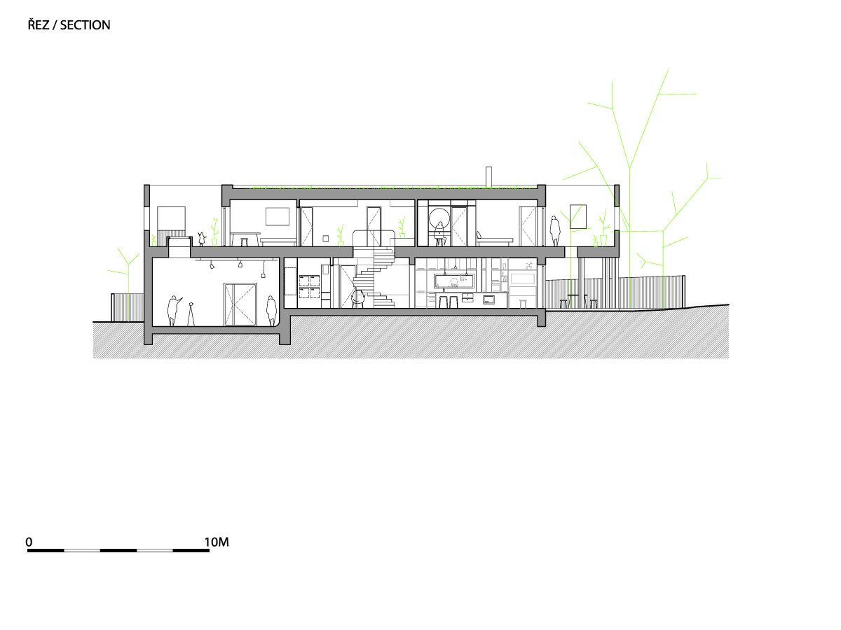 A1_W_WRK_ARC_HOUSE_CERNOSICE_MOST_P_SECTION01