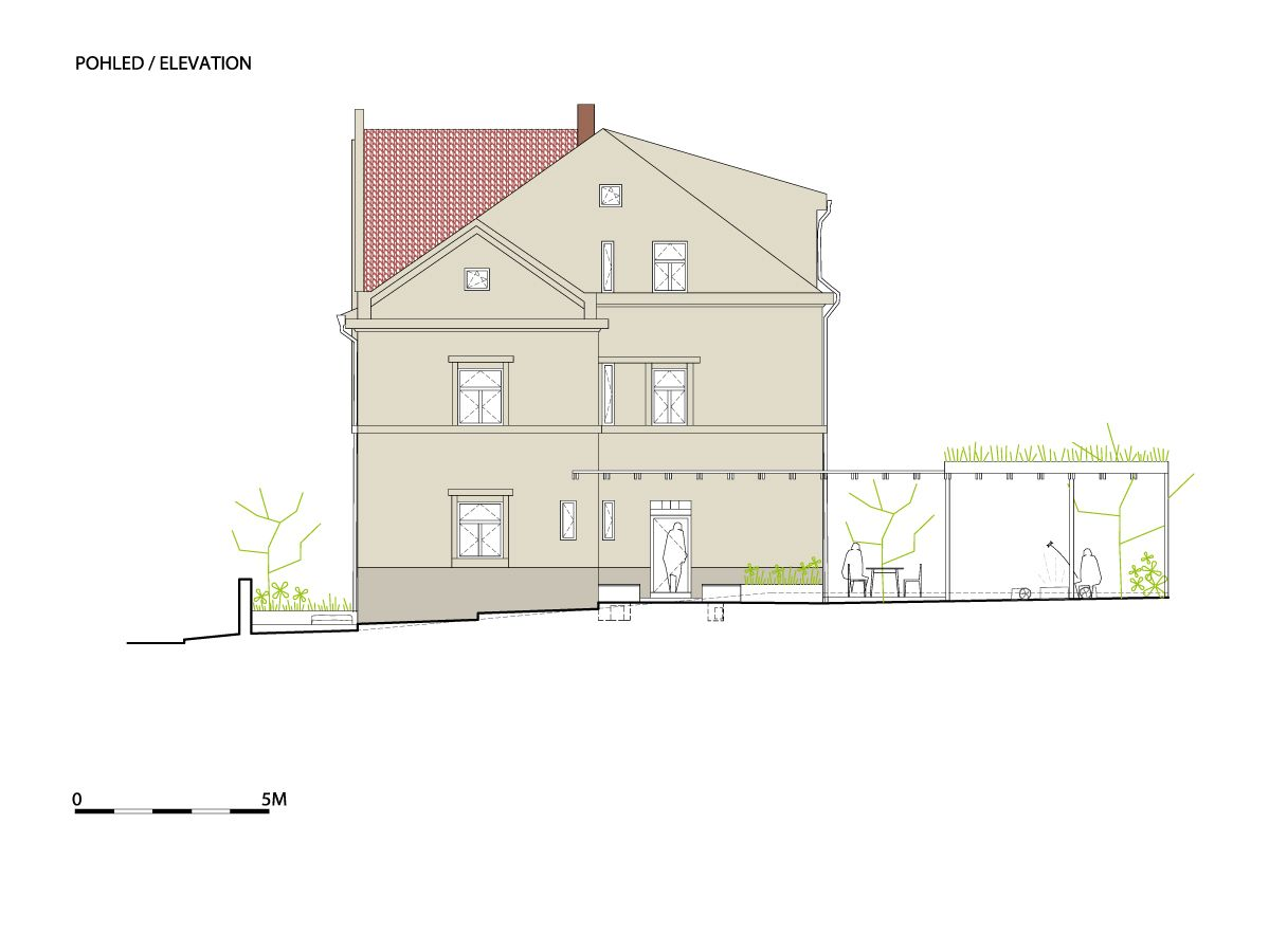 A1_W_WRK_ARC_HOUSE_HAVLOVSKA_P_ELEVATION