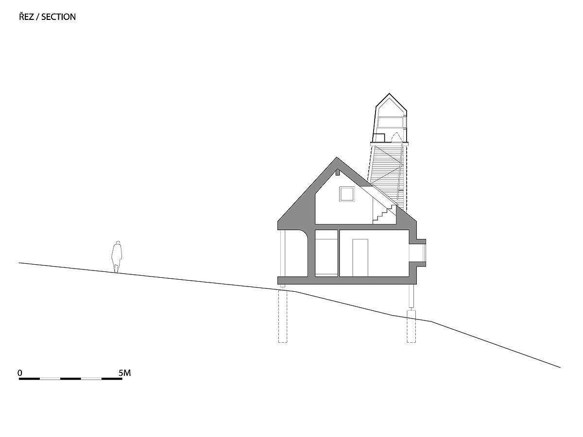 A1_W_WRK_ARC_HOUSE_VIDLAKOVA_VIEW_P_SECTION_01