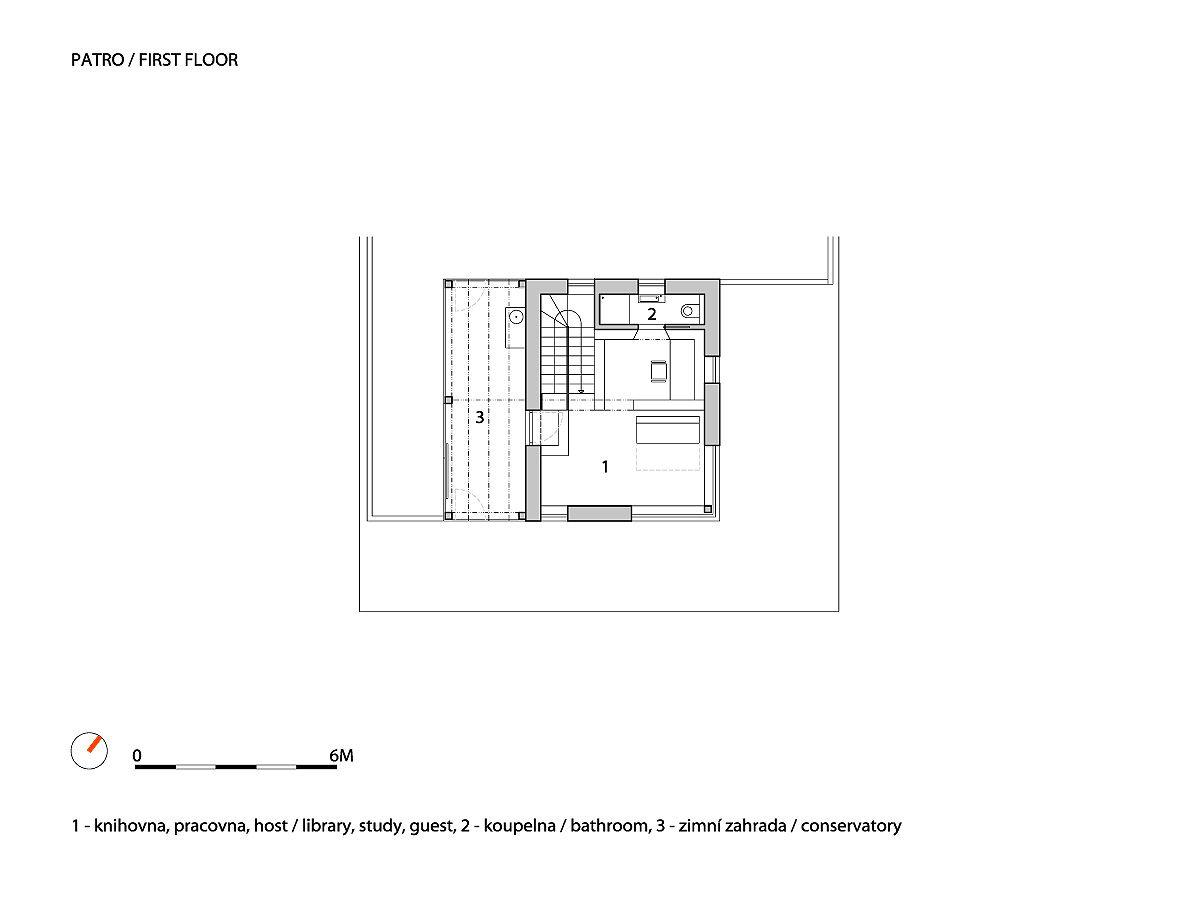 A1_W_WRK_ARC_HOUSE_VILSNICE_P_FIRST_FLOOR