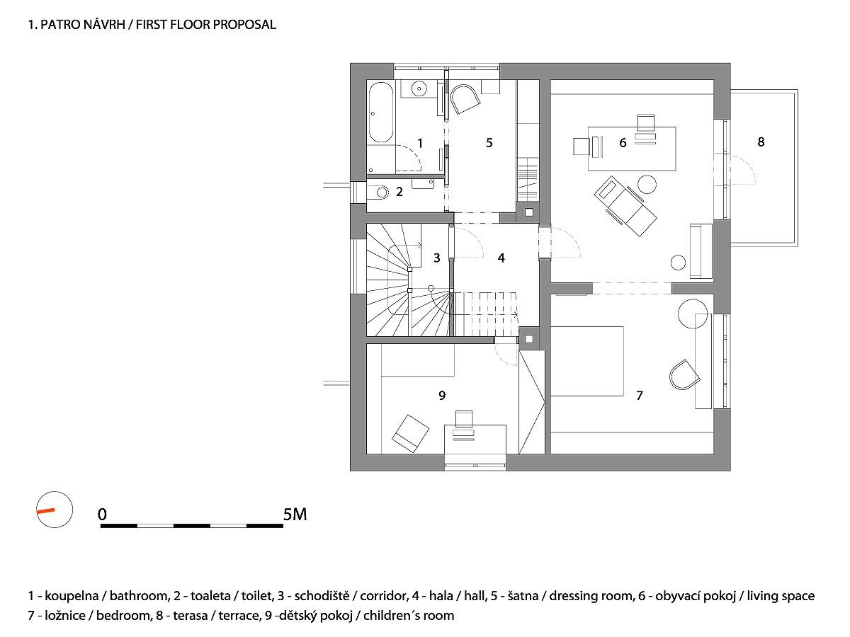 A1_W_WRK_INT_HOUSE_DECIN_RICHTER_P_FIRSTFLOOR_PROPOSAL