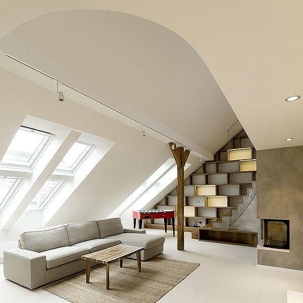 zaoblený loft